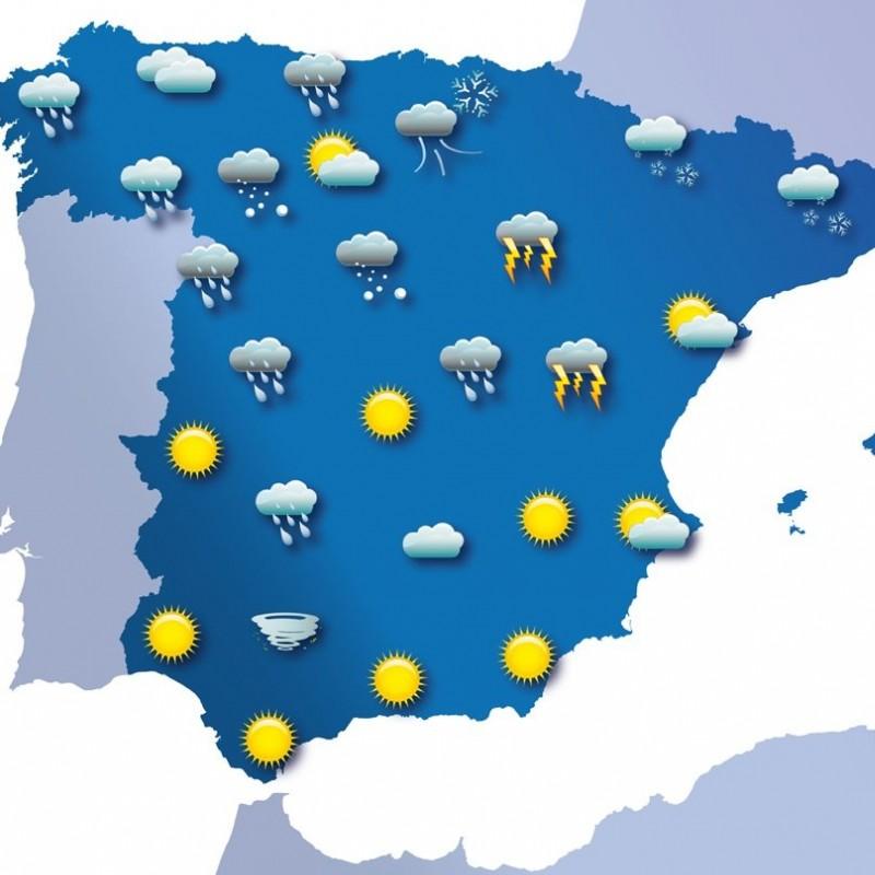 Previsión meteorológica SUP