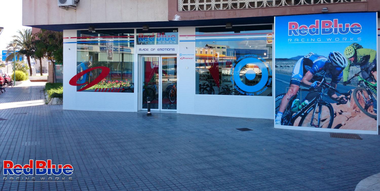 Tienda de bicicletas en Málaga